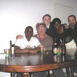 Maxwell, Monica, Sergio, Luciano